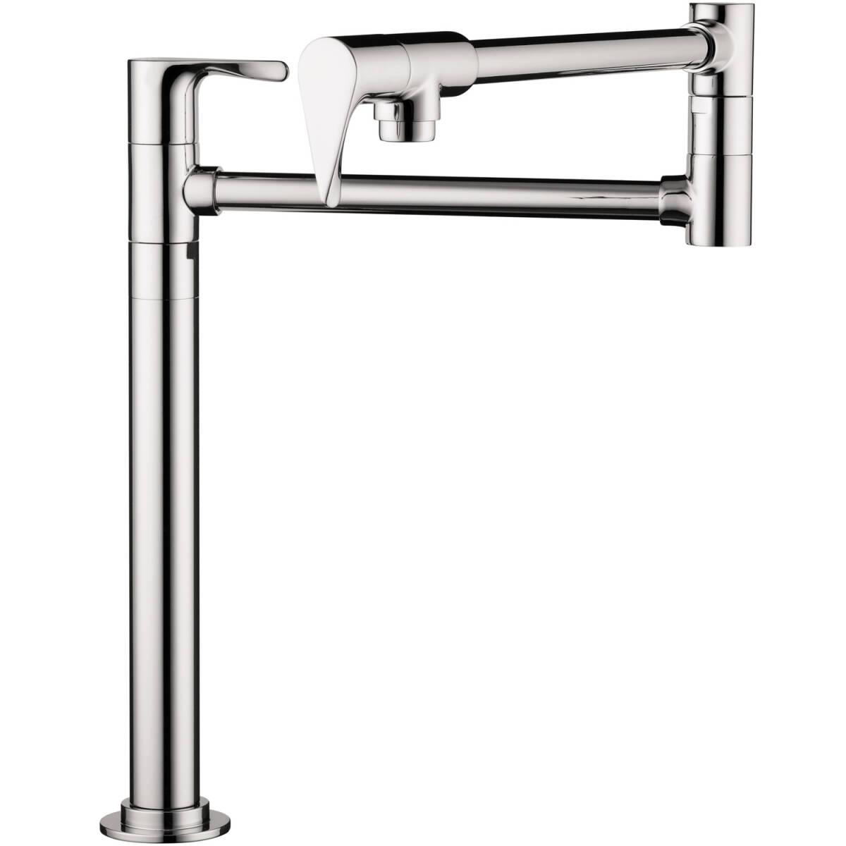 Single lever kitchen mixer deck-mounted, Chrome, 39838001