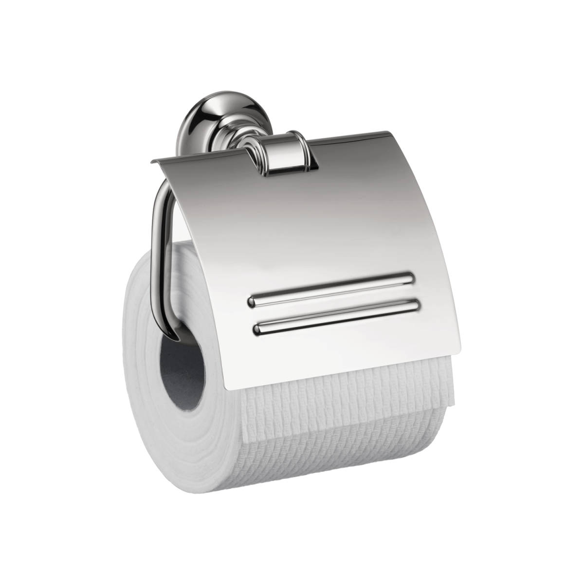 AXOR Montreux Toilet Paper Holder with Cover, chrome, 42036000