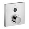 Thermostat for concealed installation square for 1 function