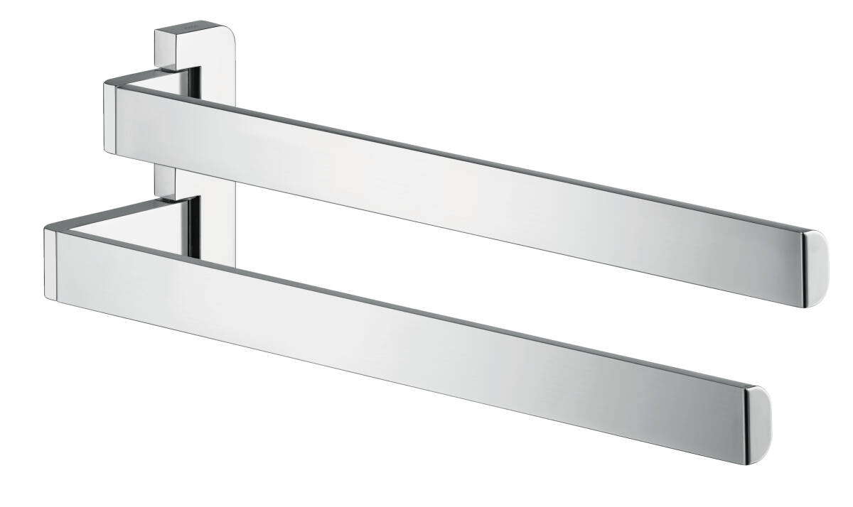 Double towel holder, Chrome, 42821000
