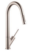 Single lever kitchen mixer 270 with pull-out spray