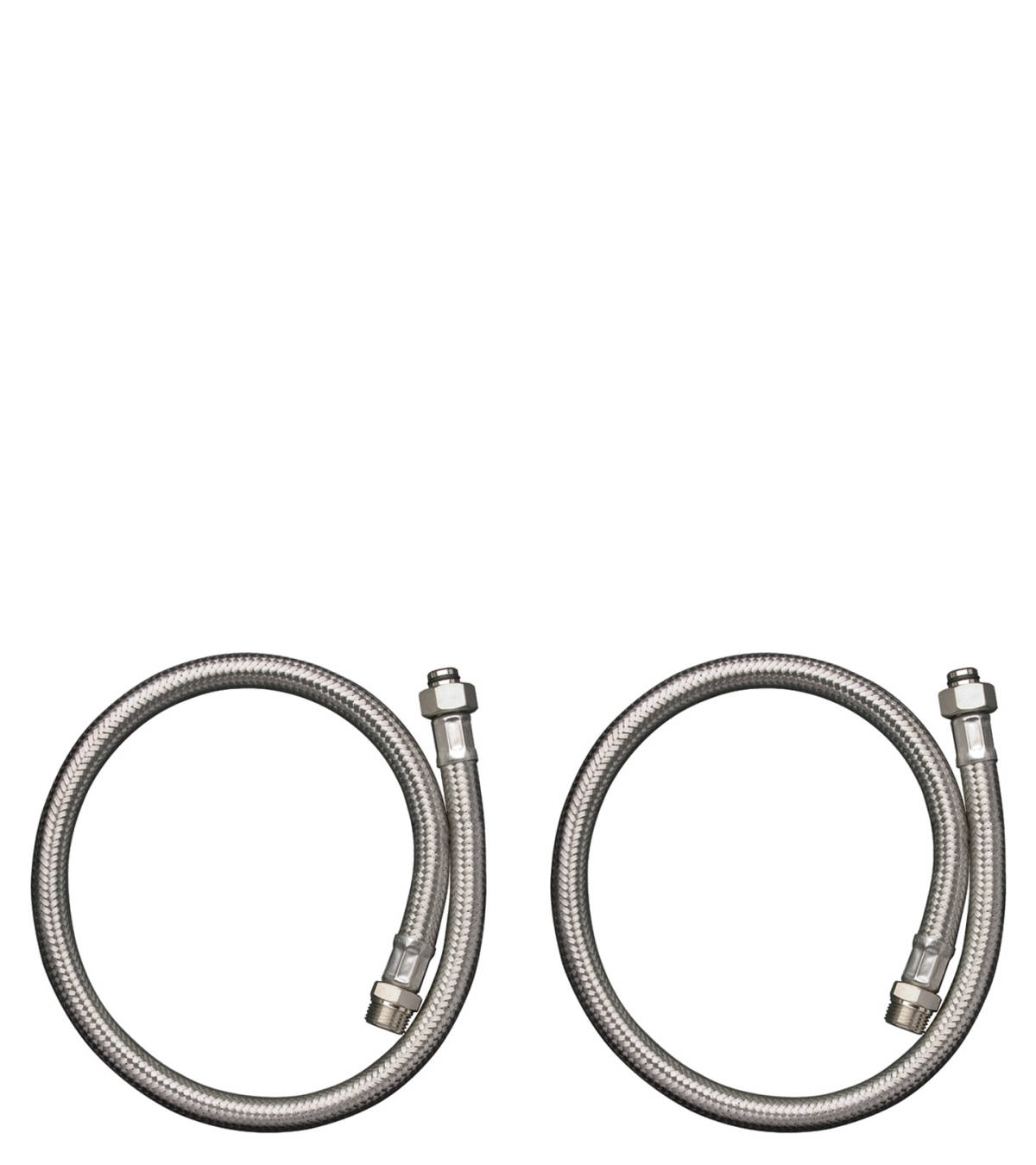Connection tube set for 2-hole rim mounted thermostatic bath mixer, n.a., 13089000