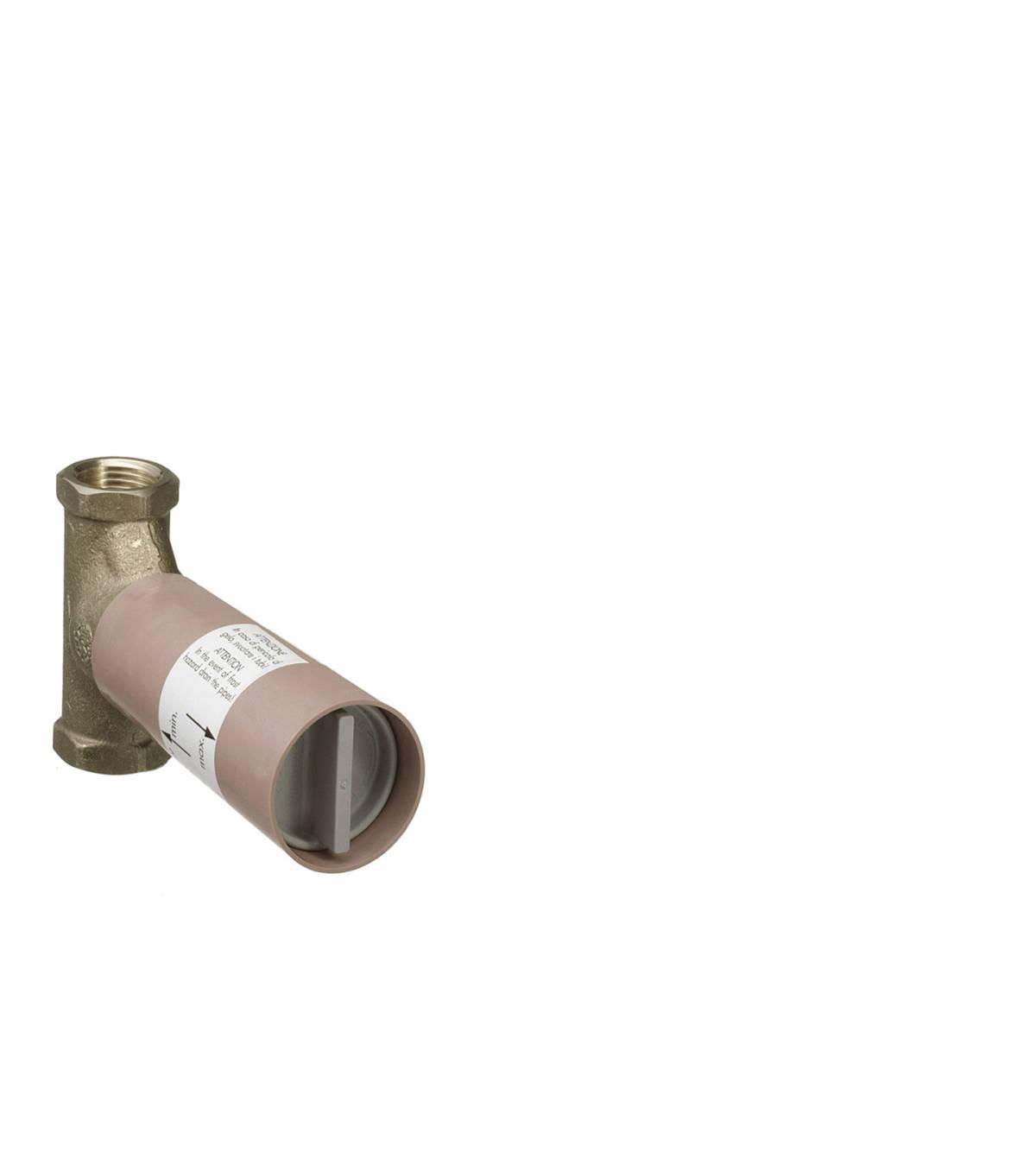Basic set 130 l/min for shut-off valve for concealed installation spindle, n.a., 16970180